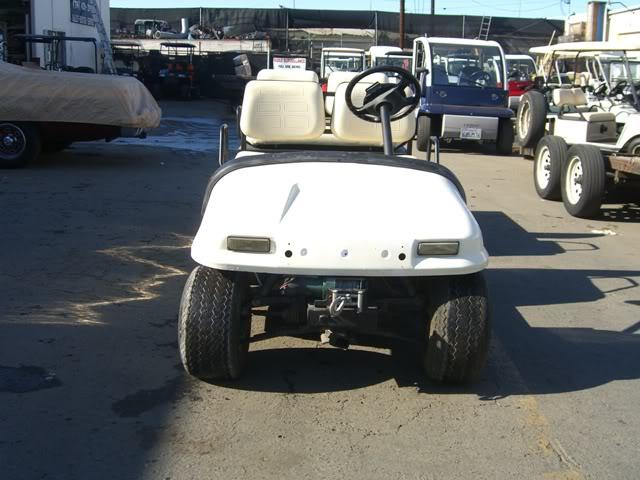 36v Volt Electric Par Car Utility Golf Cart Long Flat