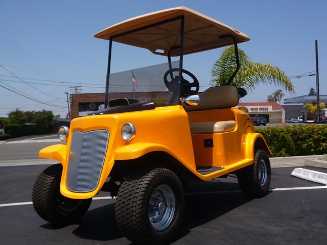 32 ford go cart ez go ezgo gas golf cart custom roadster hot rod rat