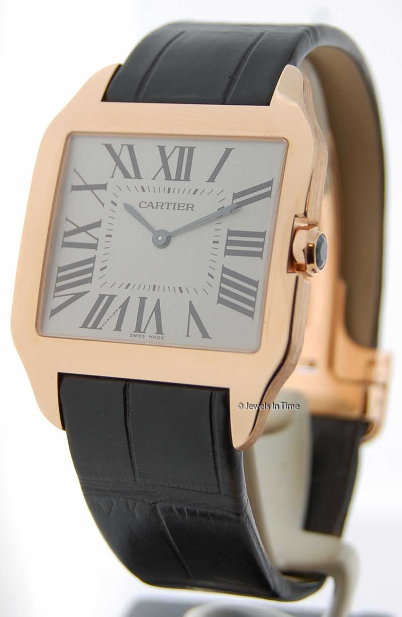 Rose Gold Mens Cartier Watches Car Interior Design