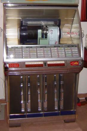 Radio Seeburg R Classic Jukebox 1954 Hf 100r