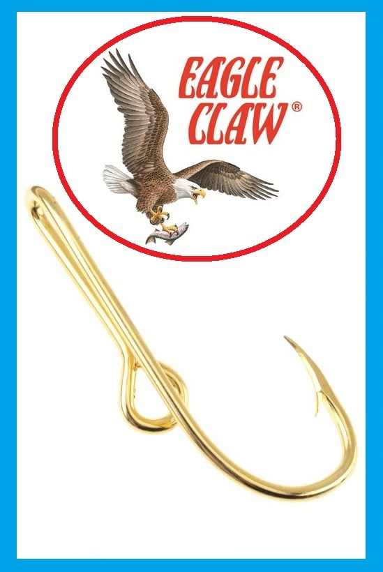 12 eagle claw hat hooks hat pin tie clasp gold plated fish for Fishing hat pins