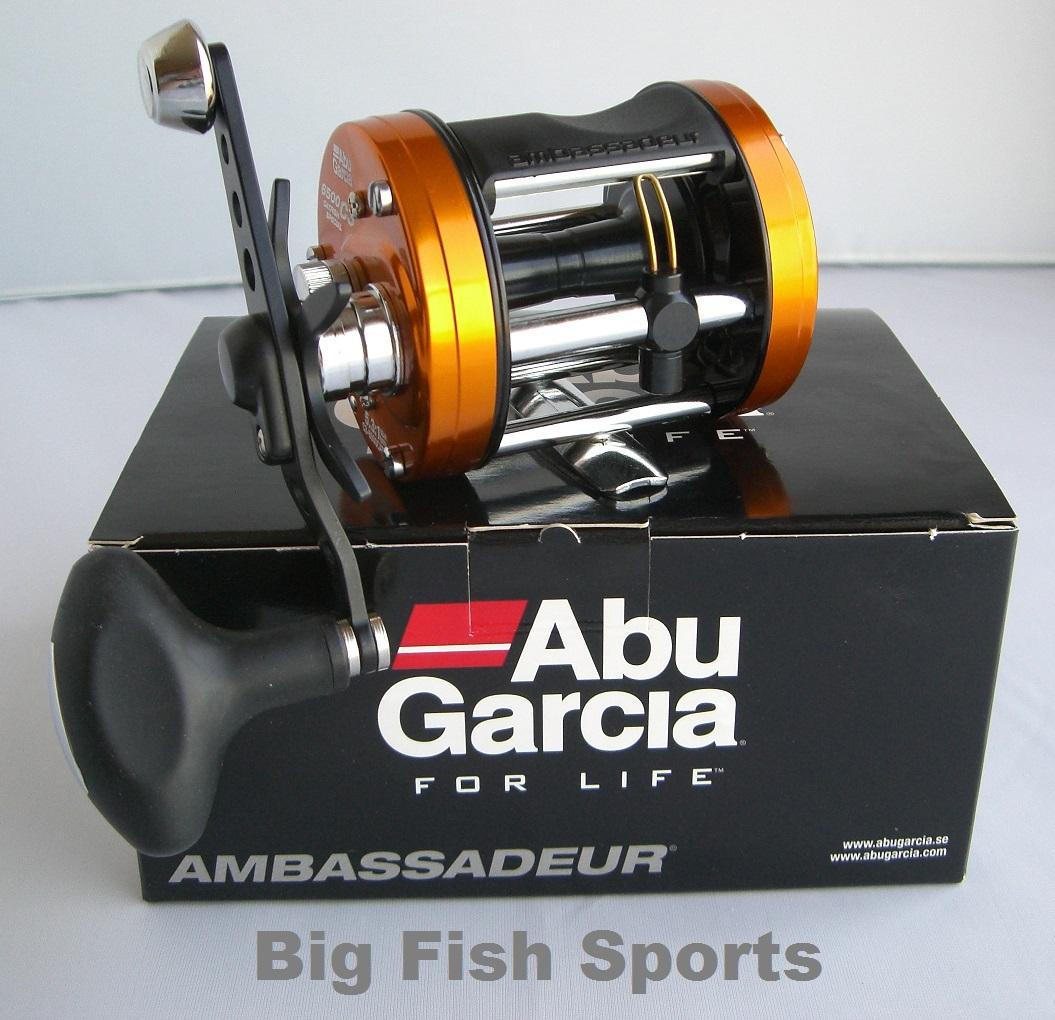 Abu Garcia Ambassadeur 6500c3 Catfish Special Reel Made In