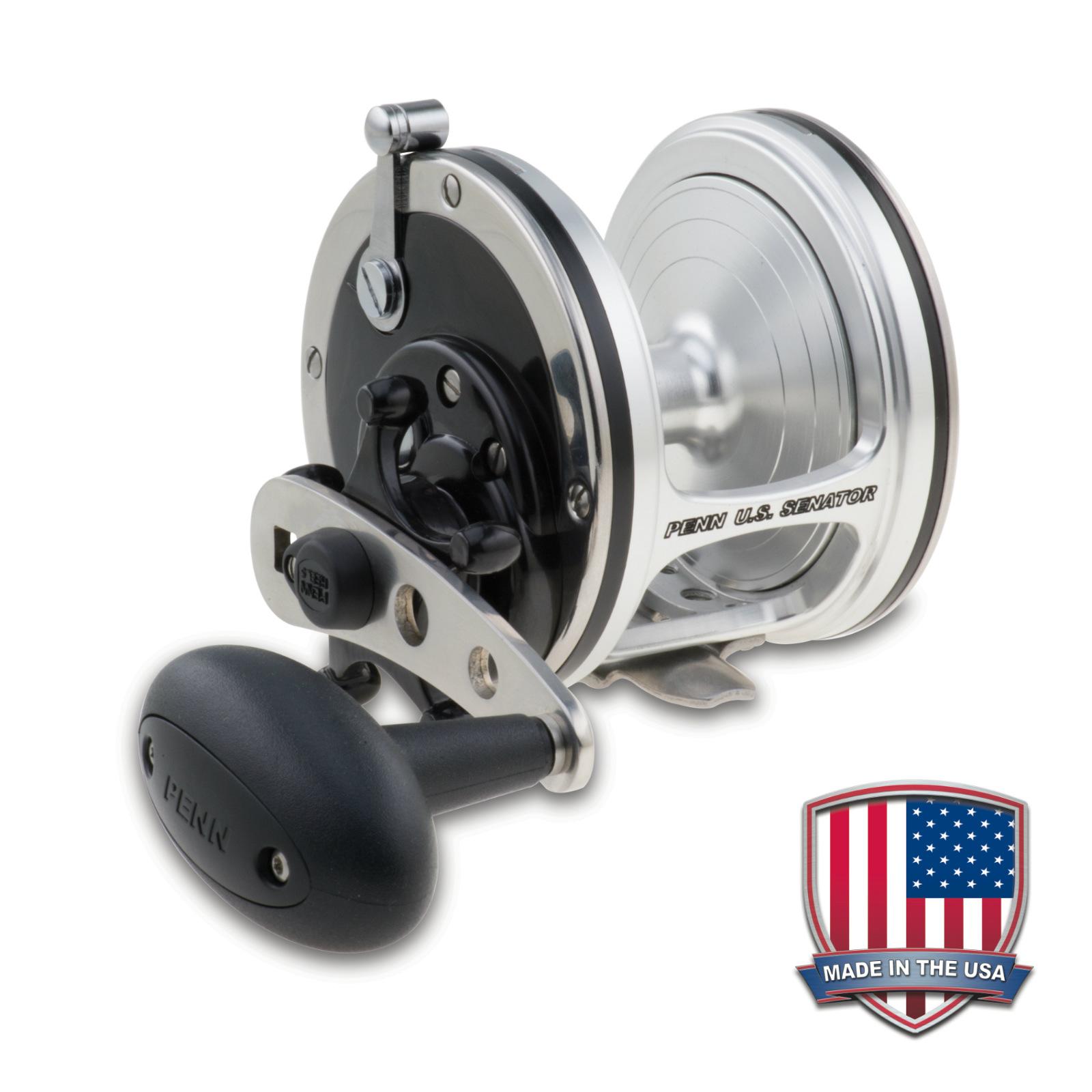 Penn us senator 113n fishing reel free usa shipping new for Fishing reels made in usa