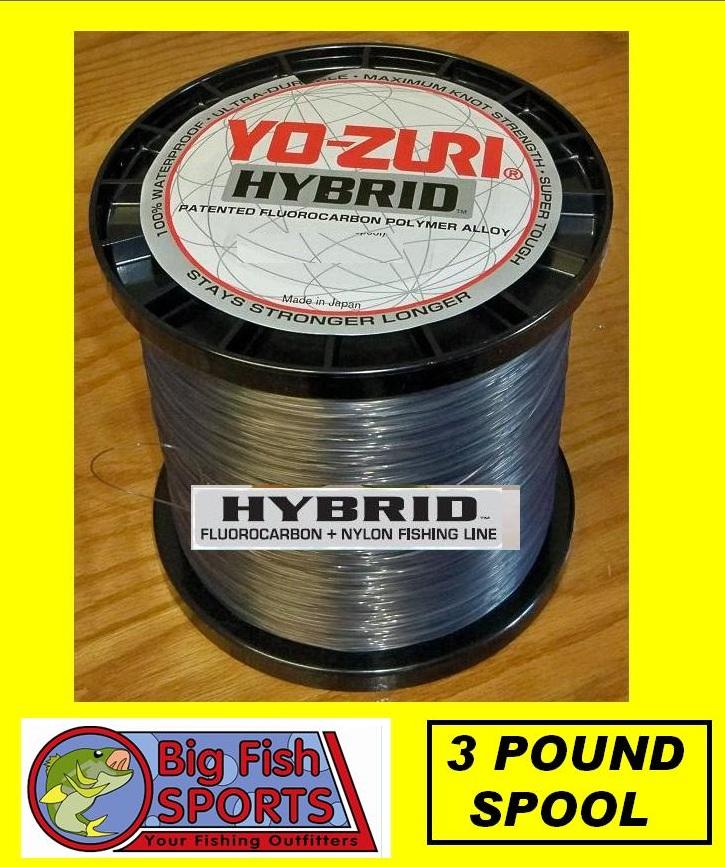 Yo zuri hybrid 30lb 5100yds fishing line 3 lb spool ebay for Yo zuri fishing line