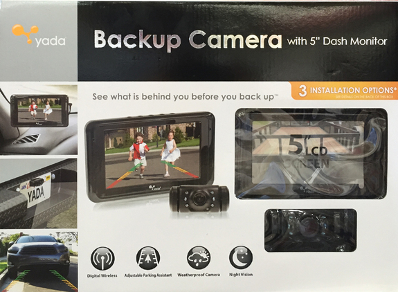new yada wireless color backup camera 5 lcd dash rear view monitor parking cam ebay. Black Bedroom Furniture Sets. Home Design Ideas