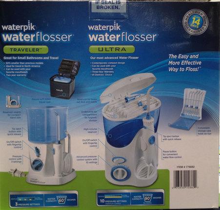 new waterpik airfloss water flosser ultra traveler combo kit dental air floss ebay. Black Bedroom Furniture Sets. Home Design Ideas