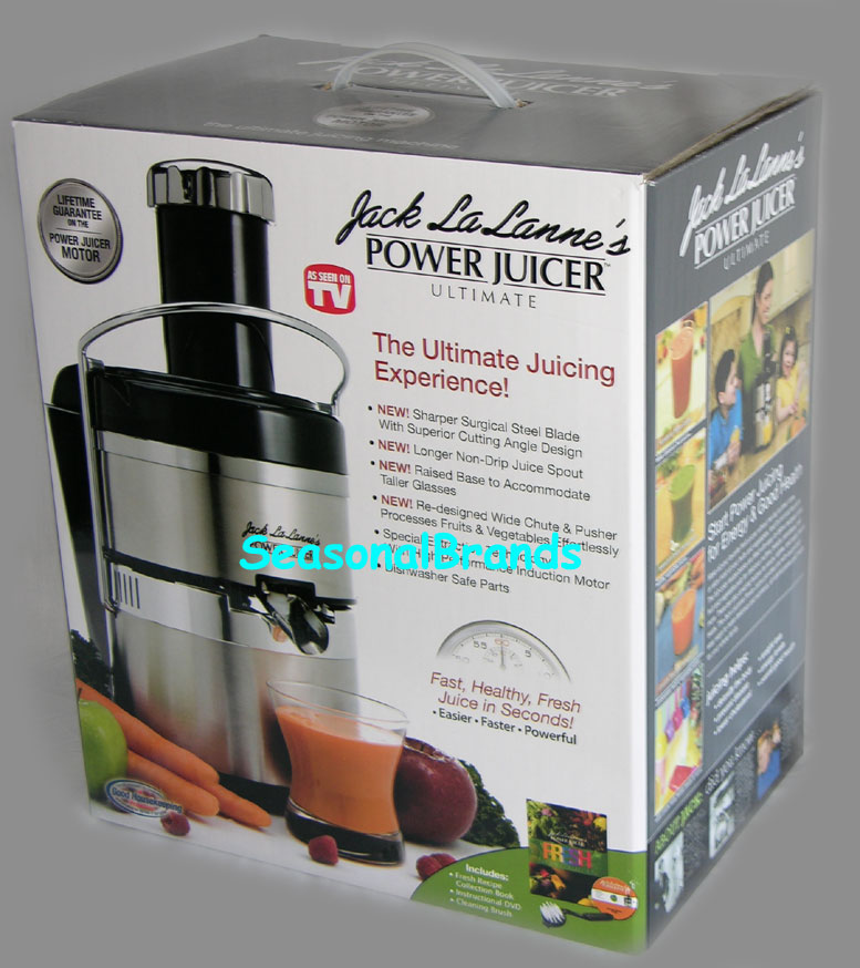Jack LaLanne's Electric Power Juicer Juice Extractor | eBay