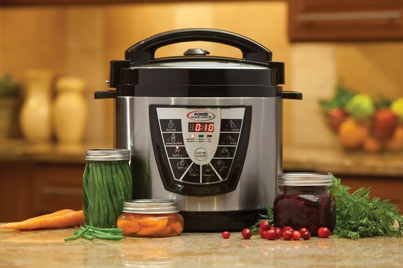 Electric Pressure Cooker For Canning ~ New electric power pressure cooker xl qt slow