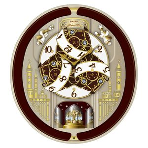 new 2013 seiko melodies in motion wall clock w christmas