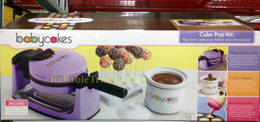 bella cake pop and donut hole maker instructions