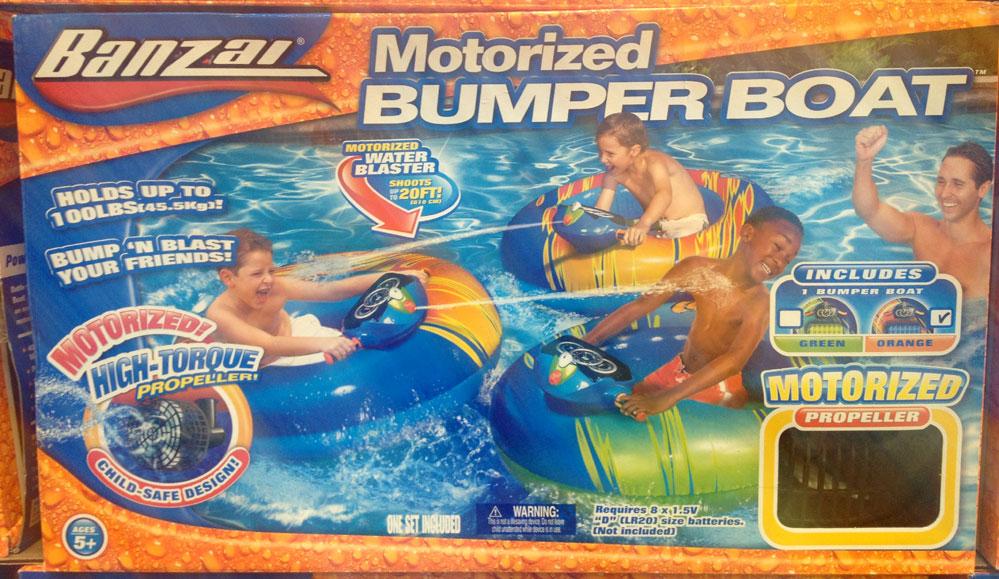 New Inflatable Banzai 40 X 36 Water Motorized Bumper
