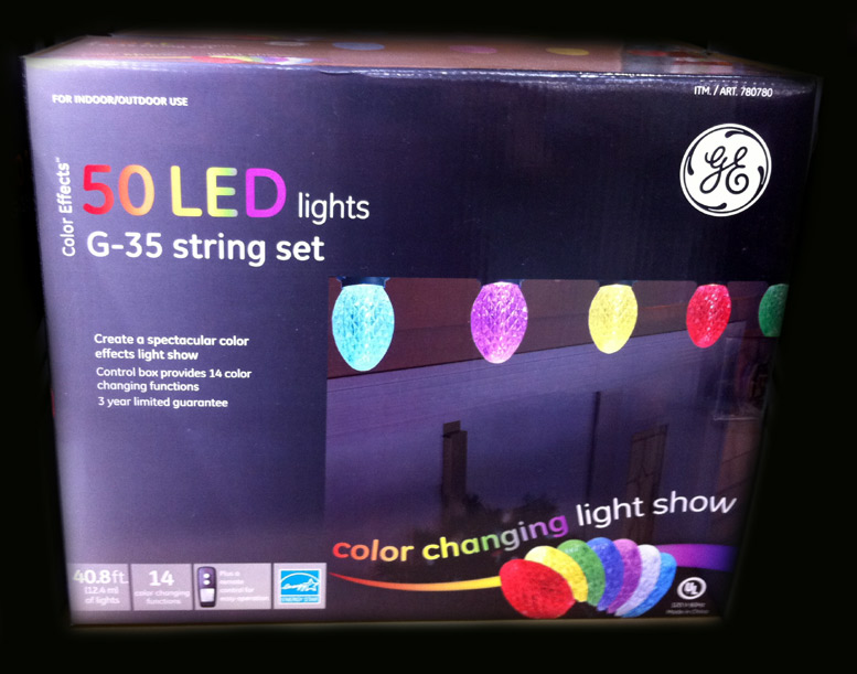 Ge Led Color Changing Christmas Lights