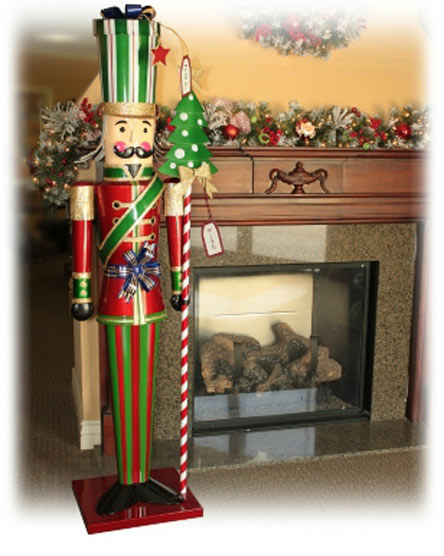 Wooden Soldier Christmas Decoration
