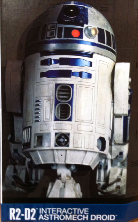 R2d2 voice activated robot manualidades