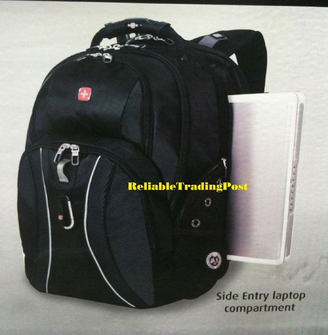 Swiss Army Swissgear Laptop Backpack Smart Scan Bookbag Ebay