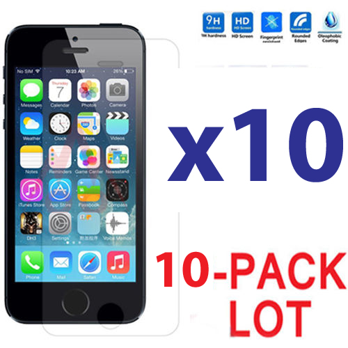 cheap iphone 5s ebay 10x lot tempered glass screen protector for 13793