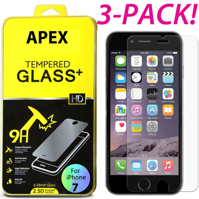 Image Hosting by Vendio. 3-PACK Brand NEW SHATTERPROOF/ANTI SCRATCH TEMPERED GLASS PROTECTOR