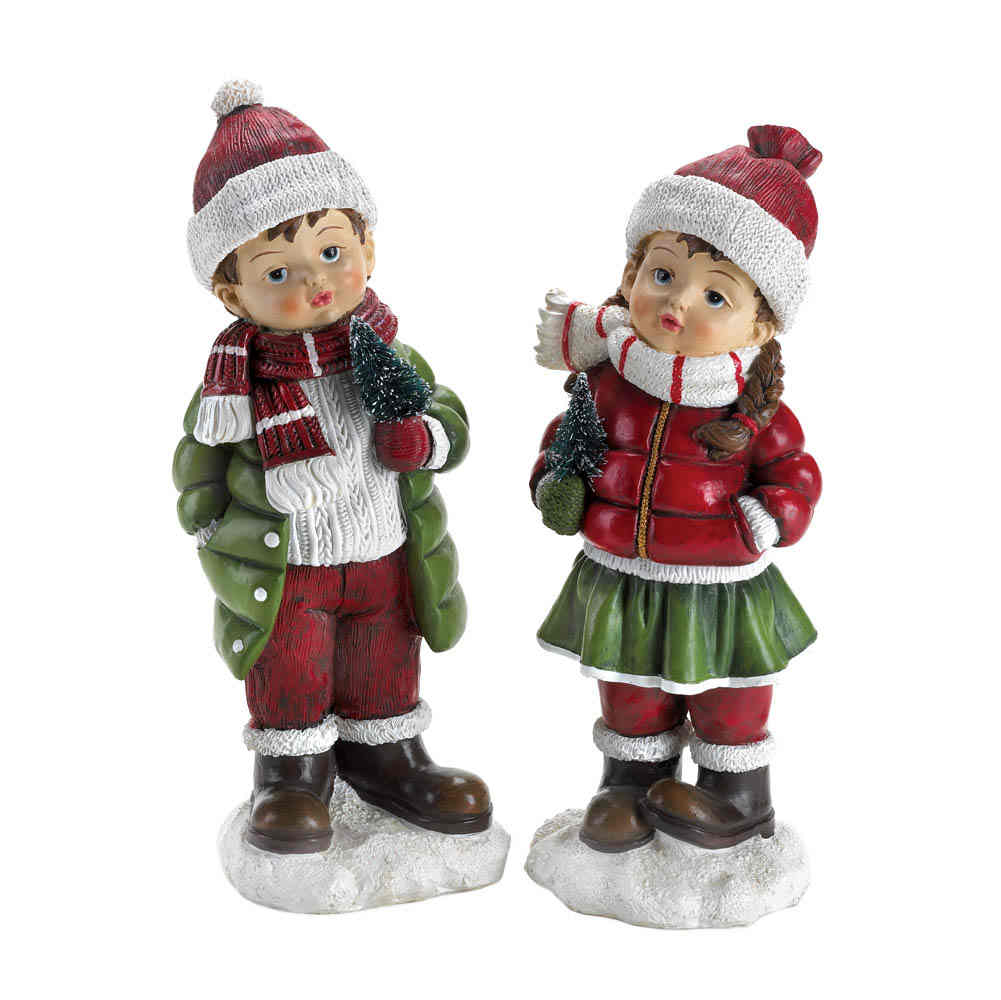 Christmas Statue Decorations: BRAND NEW! Christmas Decor HOLLY & NOEL HOLIDAY FIGURINES