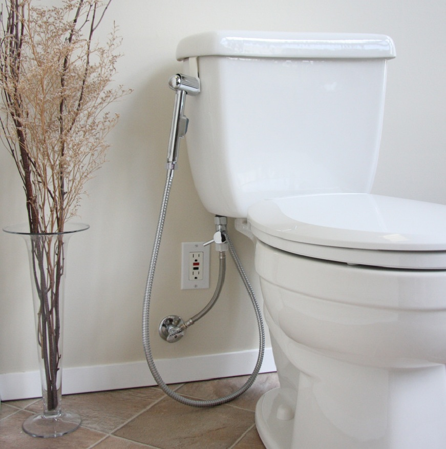 Brondell Hand Held Bidet Cleanspa Non Electric Toilet Attachment