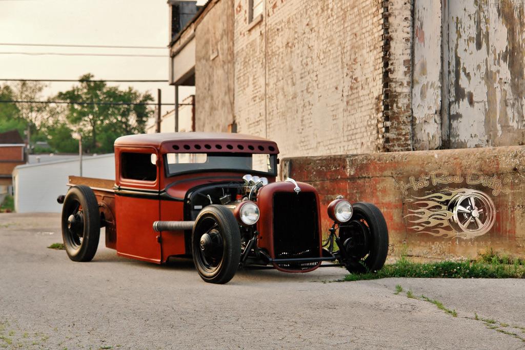 Chopped 1933 Ford Truck   The H.A.M.B.