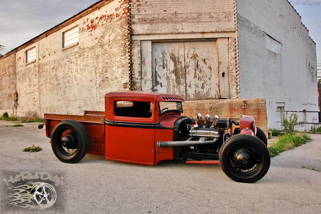 1933 1932 Ford Traditional Hot Rod Rat Chopped Pickup Truck Salt Flats ...