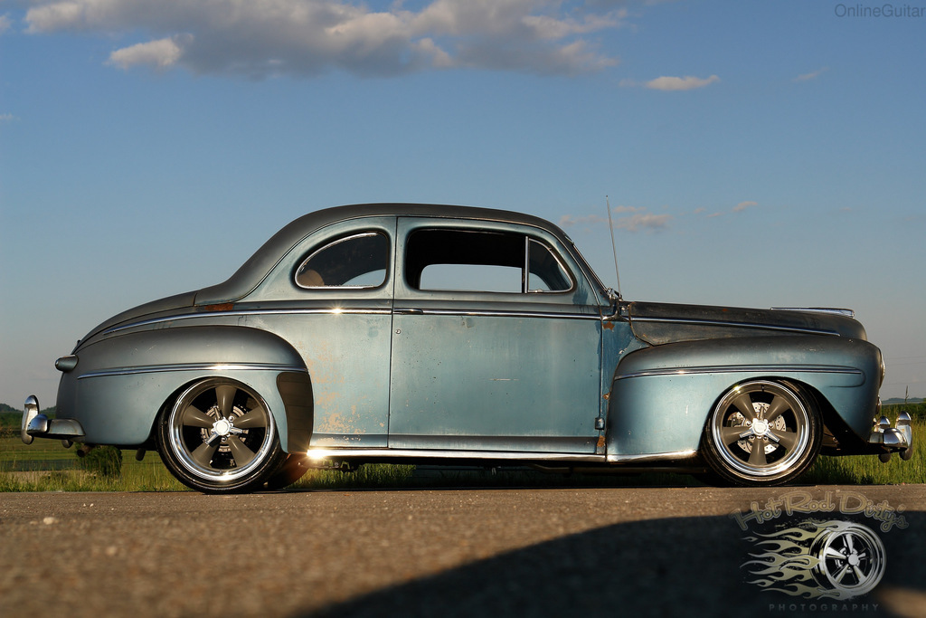 1948 Ford Deluxe Coupe Amazing Original Condition W New