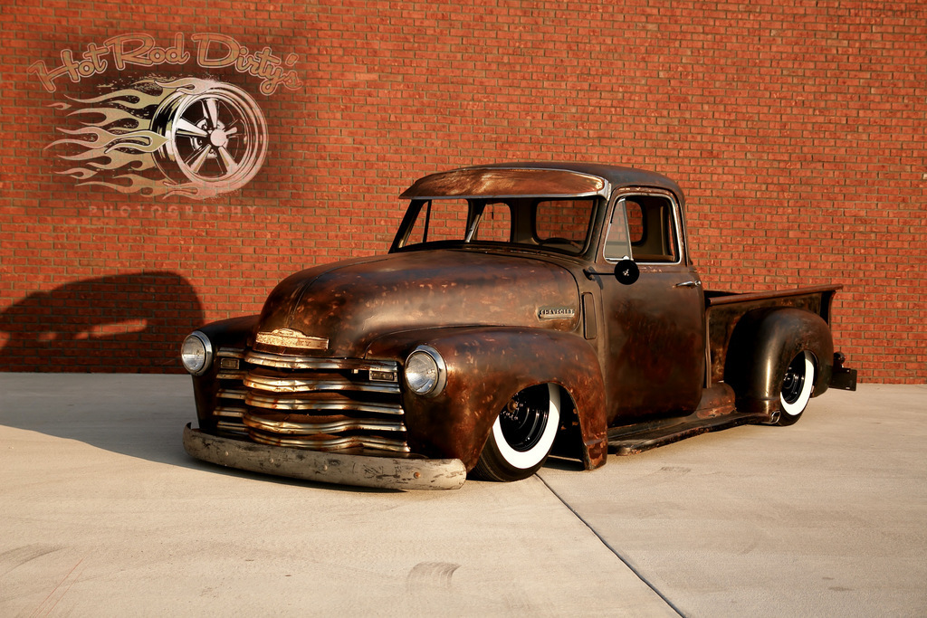 1950 AD 3100 Chevy Patina Shop Truck on Air Ride | The H.A.M.B.