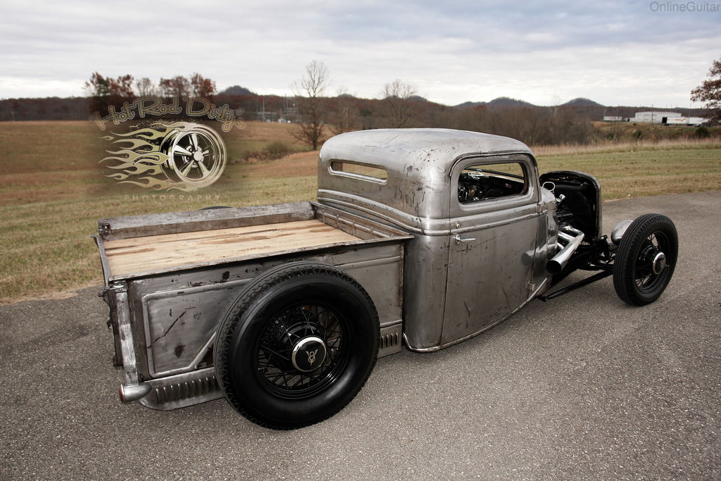 1935 Ford Other Pickups PURE TRADITIONAL HOT ROD CHOPPED | eBay