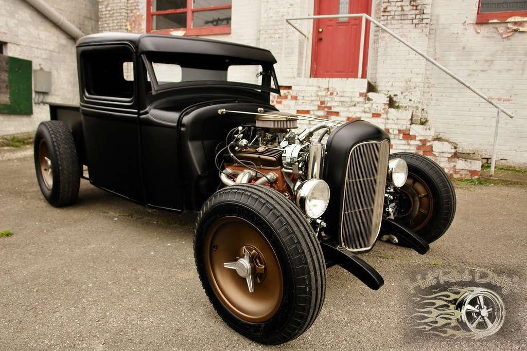 The second Street rod probems with shaved doors