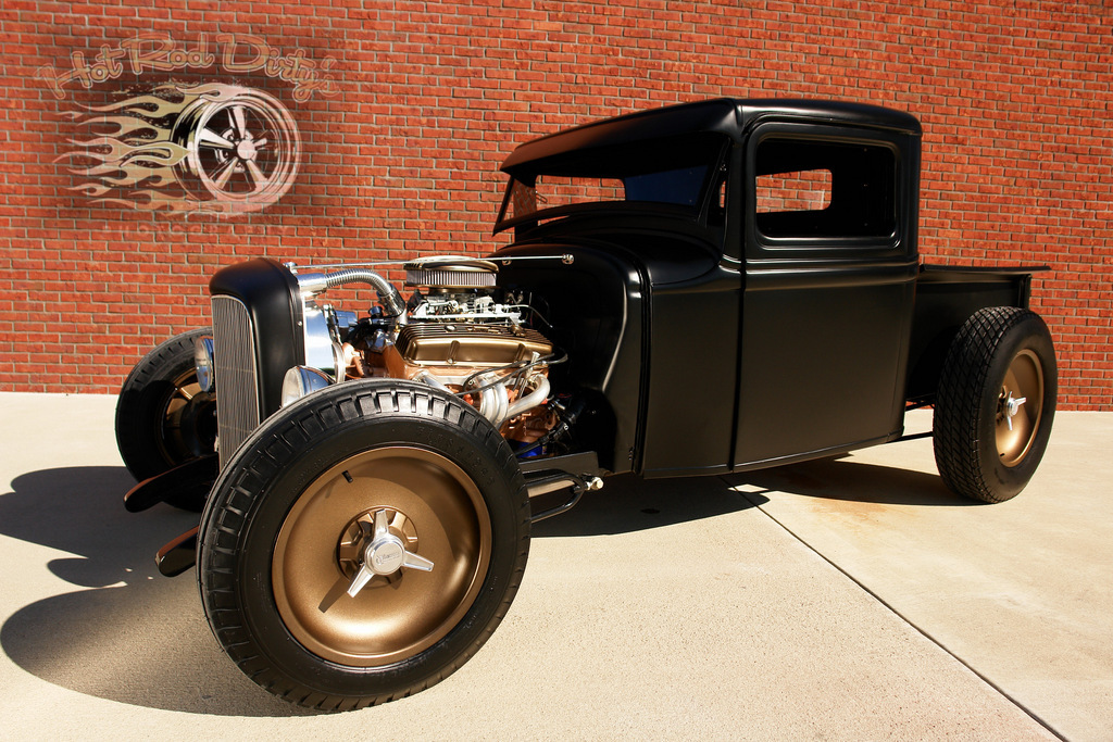 Liebes beautiful Street rod probems with shaved doors loves