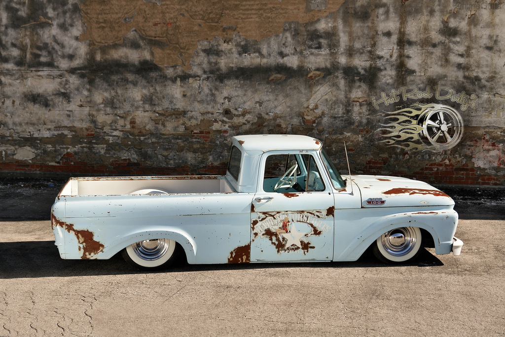 1963 Chevy Truck For Sale 1963 Unibody Ford Air Bagged Shop Truck | The H.A.M.B.