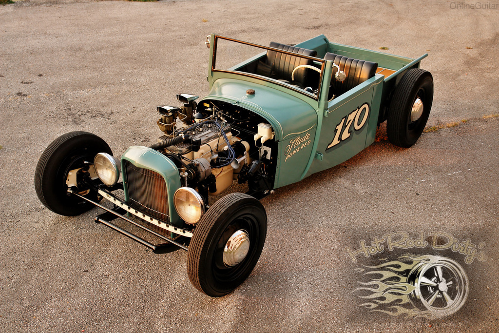 1928 Ford Roadster Pickup w/ Flathead 6, Vintage Racer | The H.A.M.B.