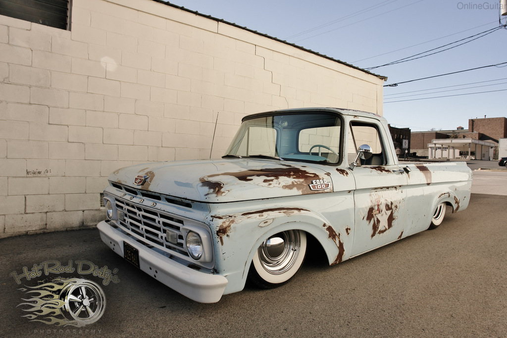 Lowered rat rod f100 submited images