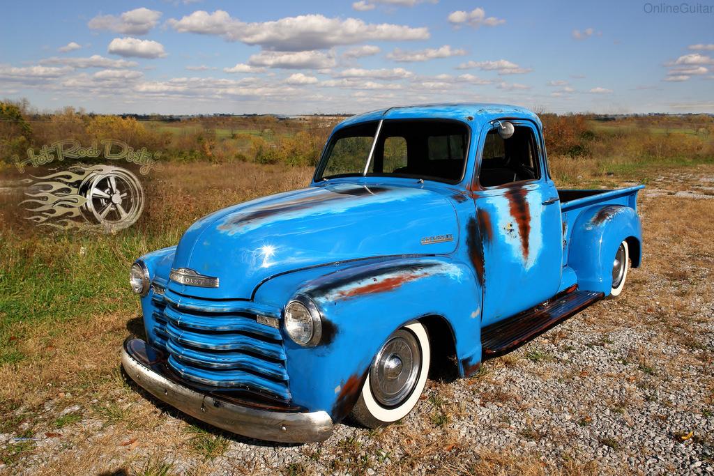 Slammed 1951 Chevy 3100 Short Bed Pickup V8 And Patina