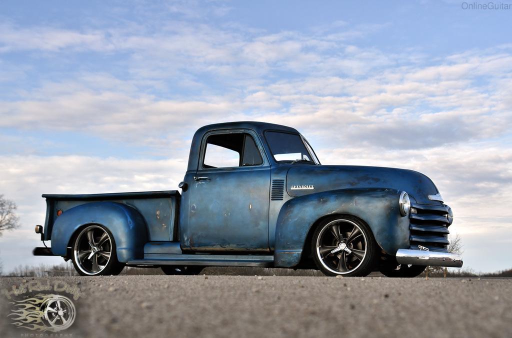 Slammed 1952 Chevrolet 3100 Patina Shop Truck | The H.A.M.B.
