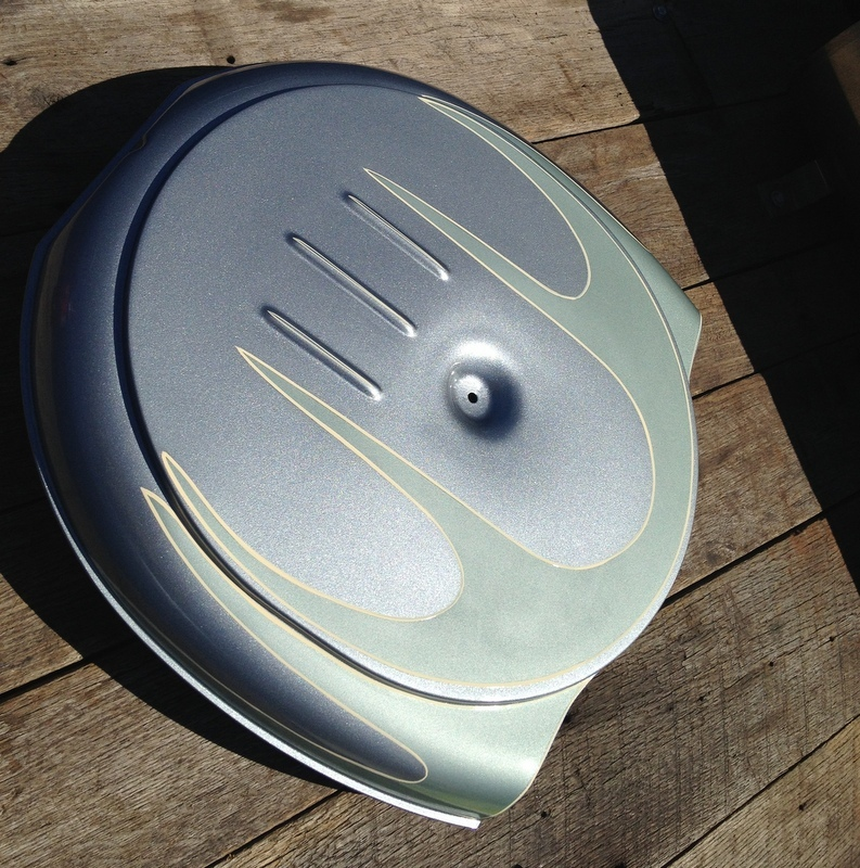 Street Rod Air Cleaners : New hot rat street rod retro caddy batwing style steel air