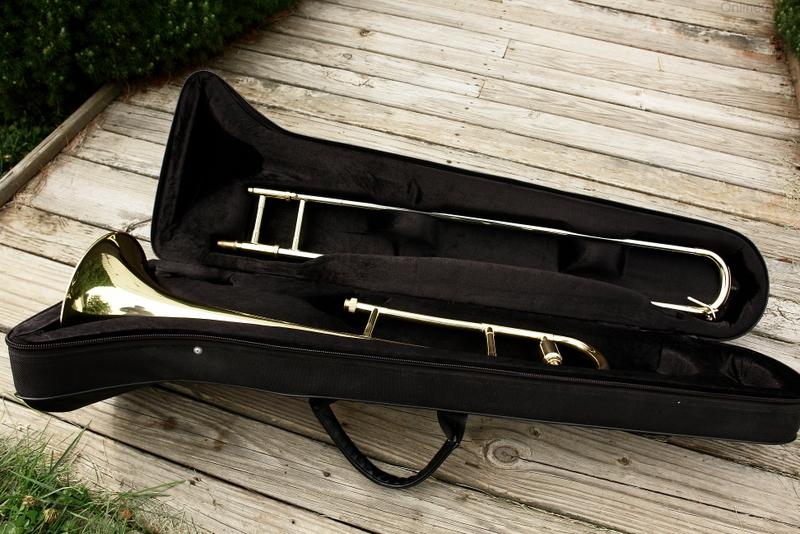 Used 2015 merano trombone w yamaha care kit great shape for Yamaha trombones for sale