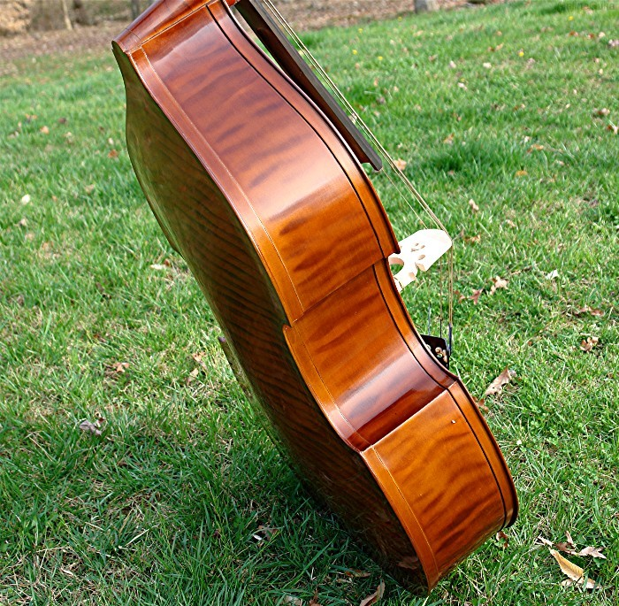 artist model upright bass fiddle bluegrass dream ebay. Black Bedroom Furniture Sets. Home Design Ideas