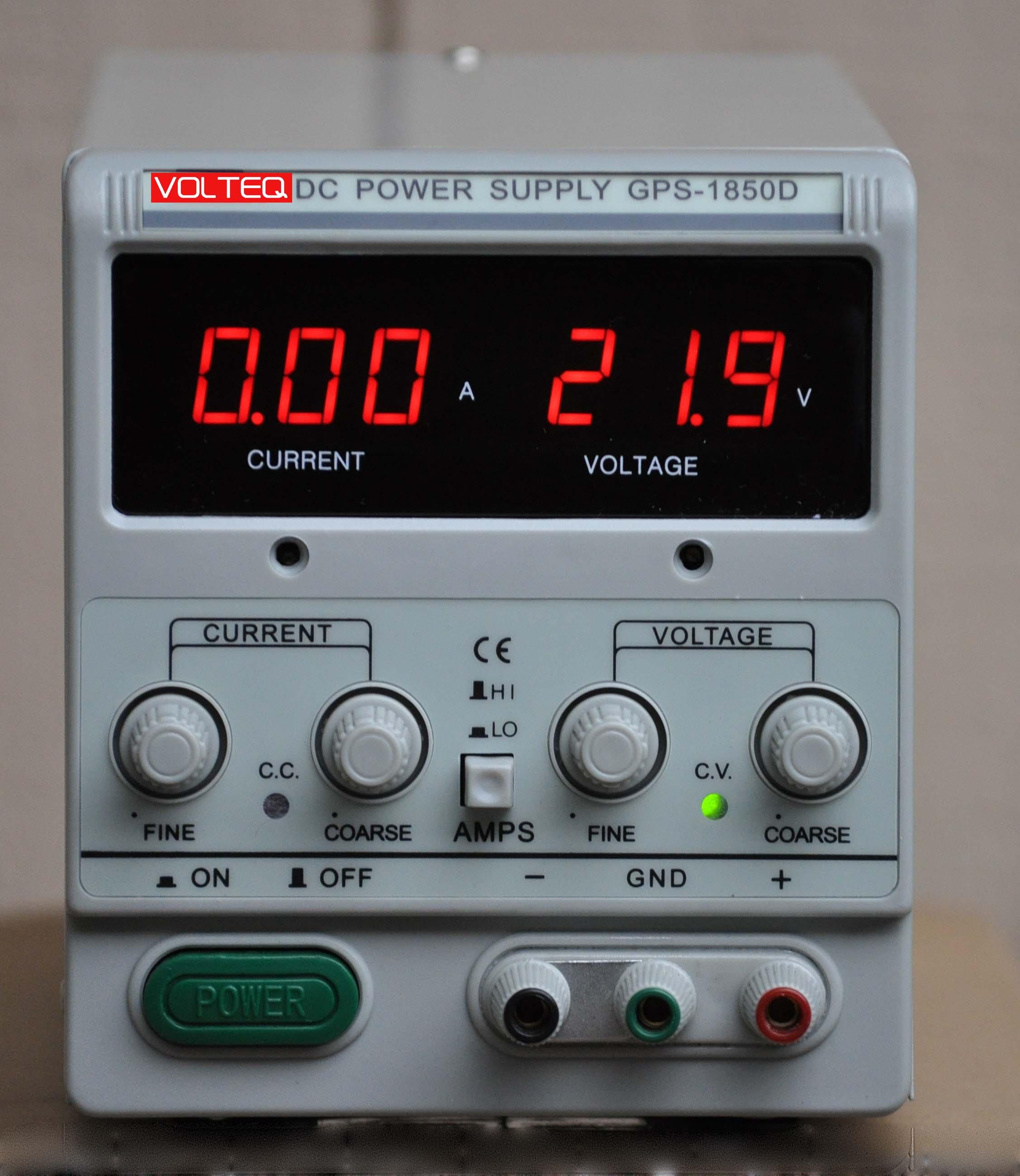 Linear Power Supply GPS-1850D
