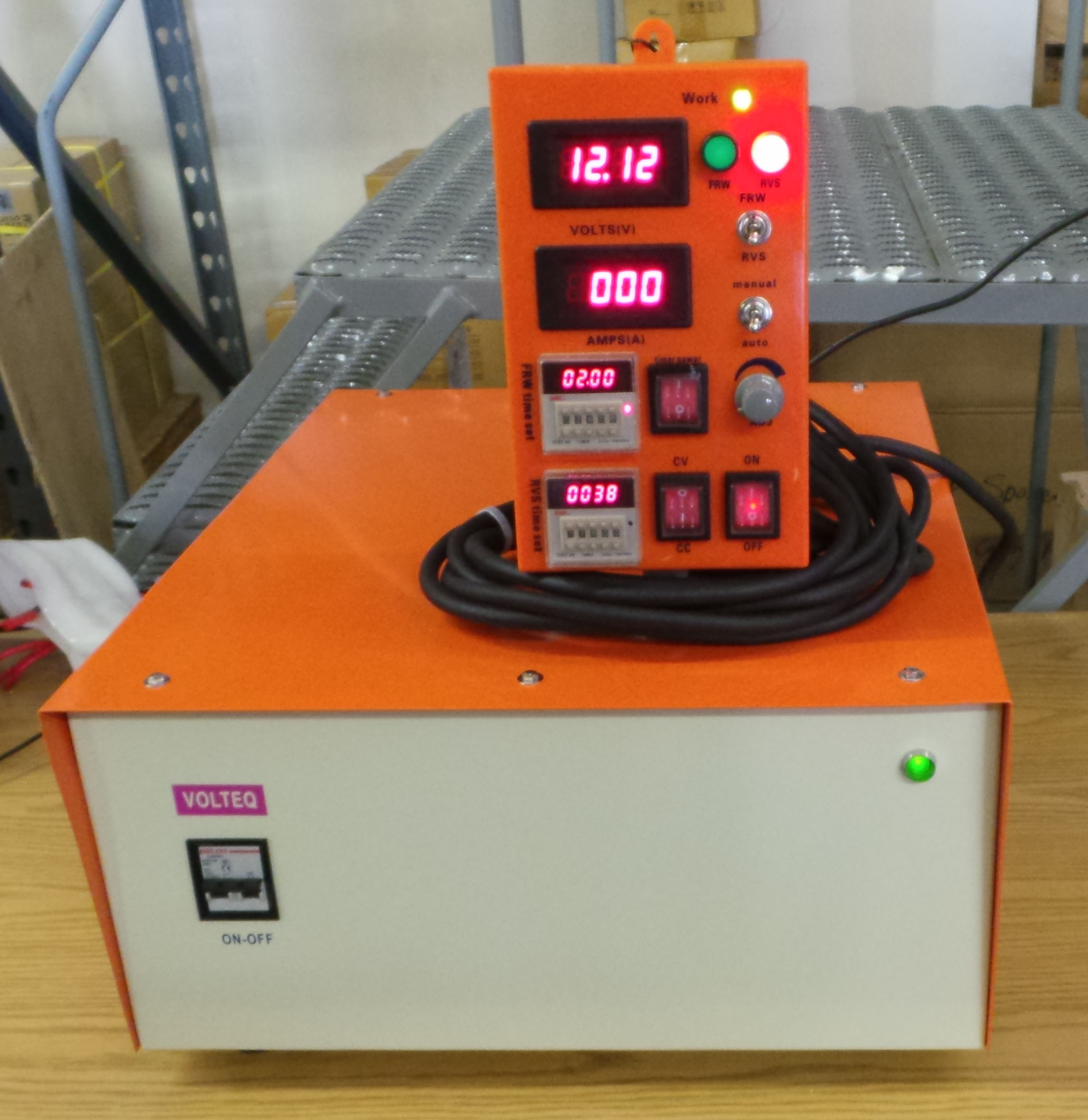 High Current Rectifier for Electroplating Waste Water
