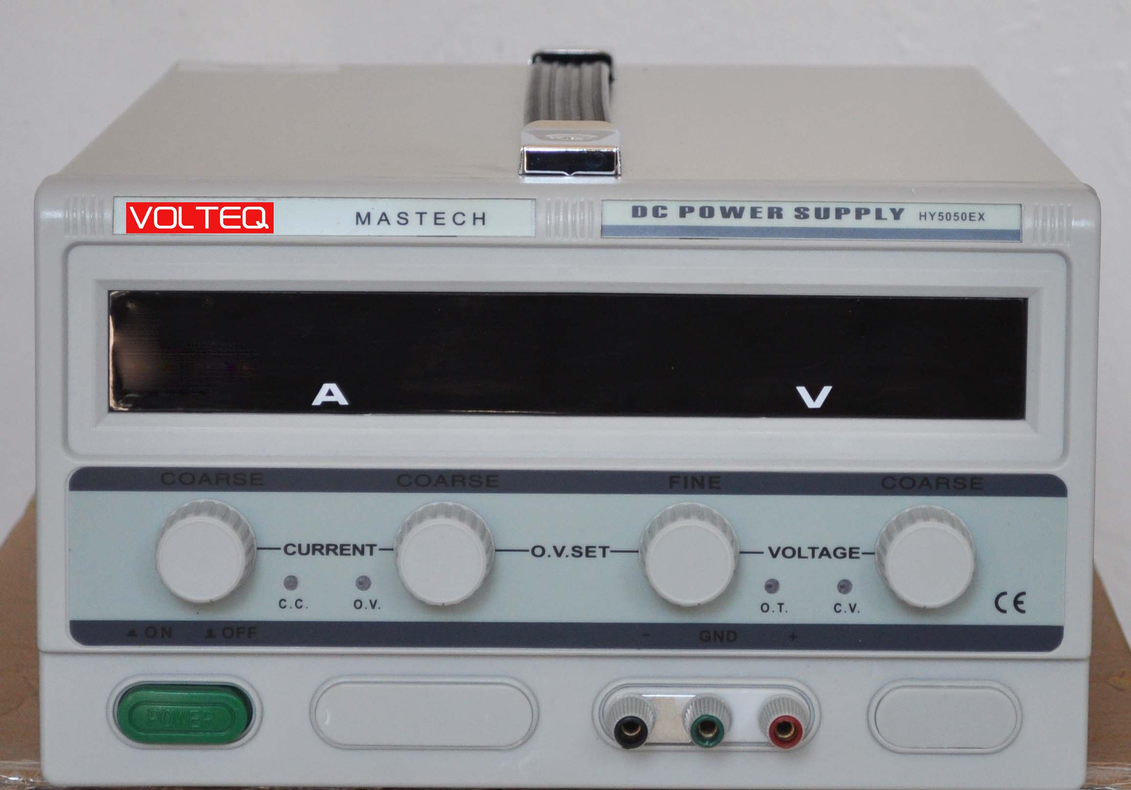 Regulated Dc Power Supply Hy5050ex Volteq Reliable Variable Voltage And Current Switching