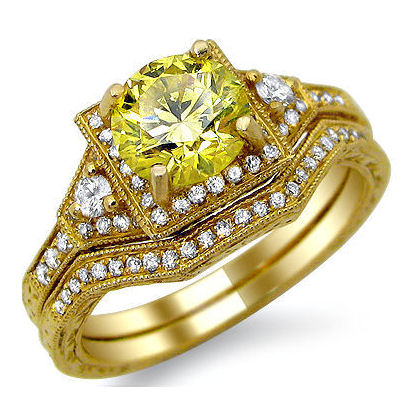 Yellow Gold Engagement Rings Yellow Gold Engagement Rings 8000