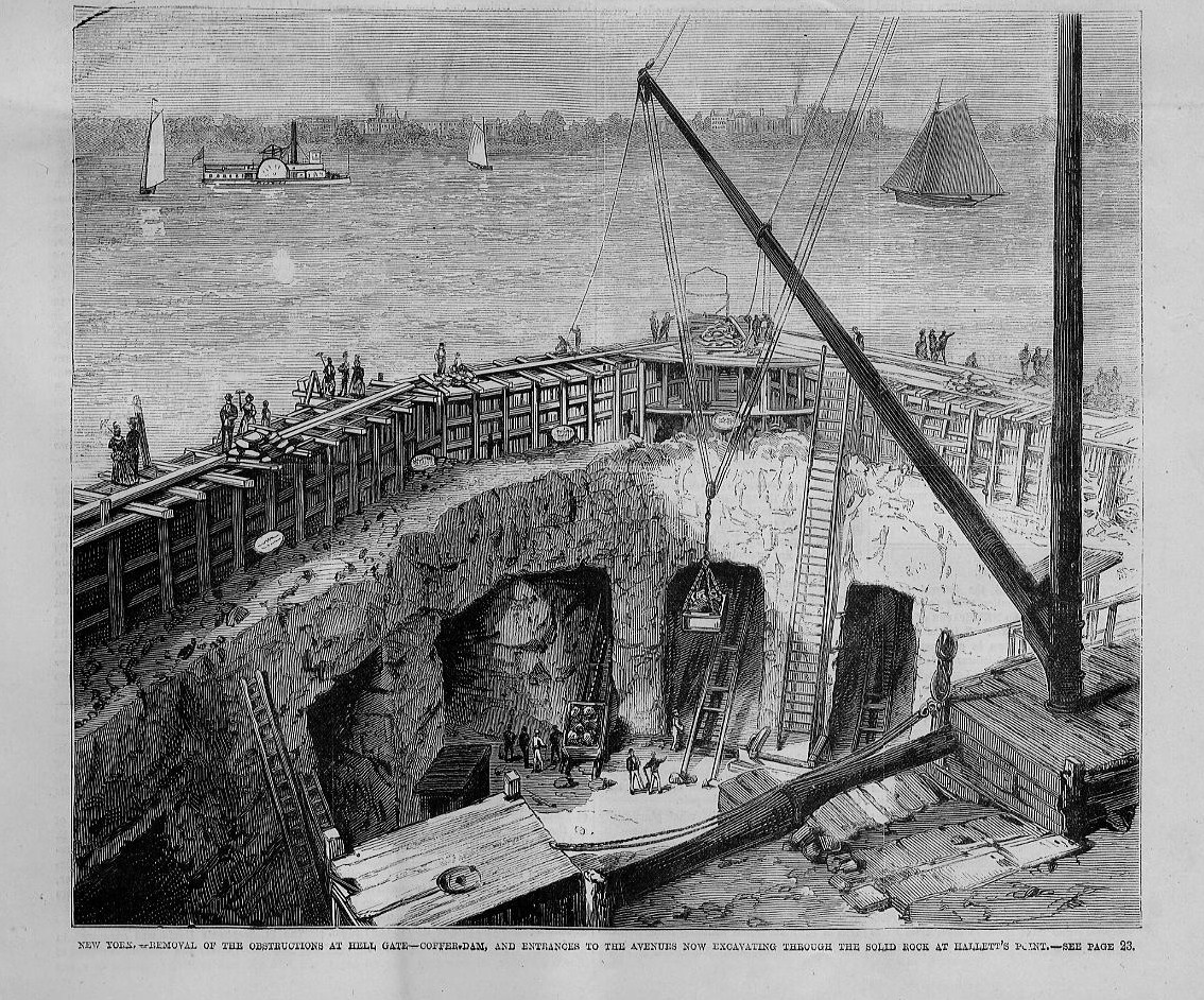EXCAVATION HALLETT'S POINT NEW YORK REMOVAL OF ...