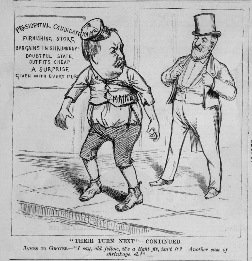James blaine grover cleveland at presidential candidates for Blaine storage