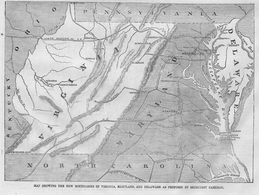 Virginia maryland delaware north carolina washington 1861 image hosting by vendio sciox Gallery