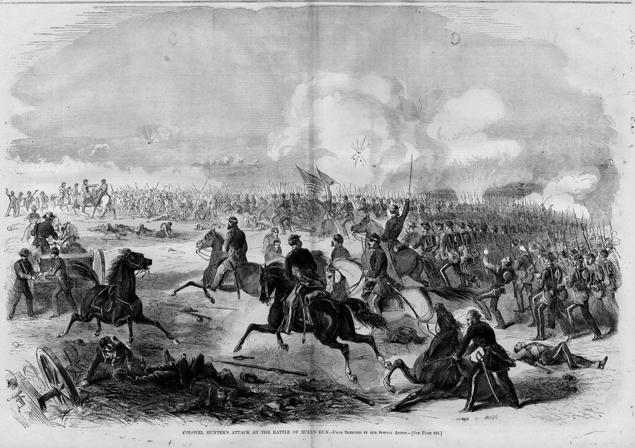 BATTLE OF BULL'S RUN, CIVIL WAR, COLONEL HUNTER HISTORY | eBay
