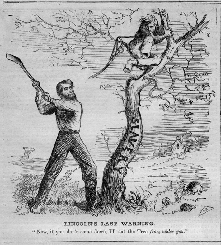 lincoln slavery: