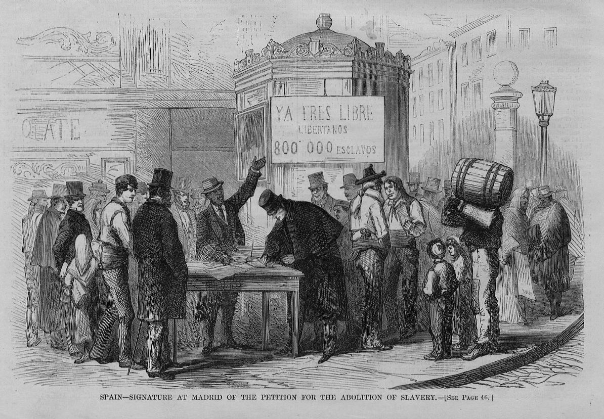 abolition of slavery The first state to begin a gradual abolition of slavery was pennsylvania, in 1780 all importation of slaves was prohibited, but none freed at first.