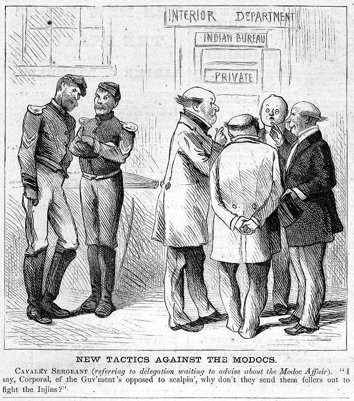Modoc indian affairs 1873 interior department cavalry ebay - Interior bureau of indian affairs ...