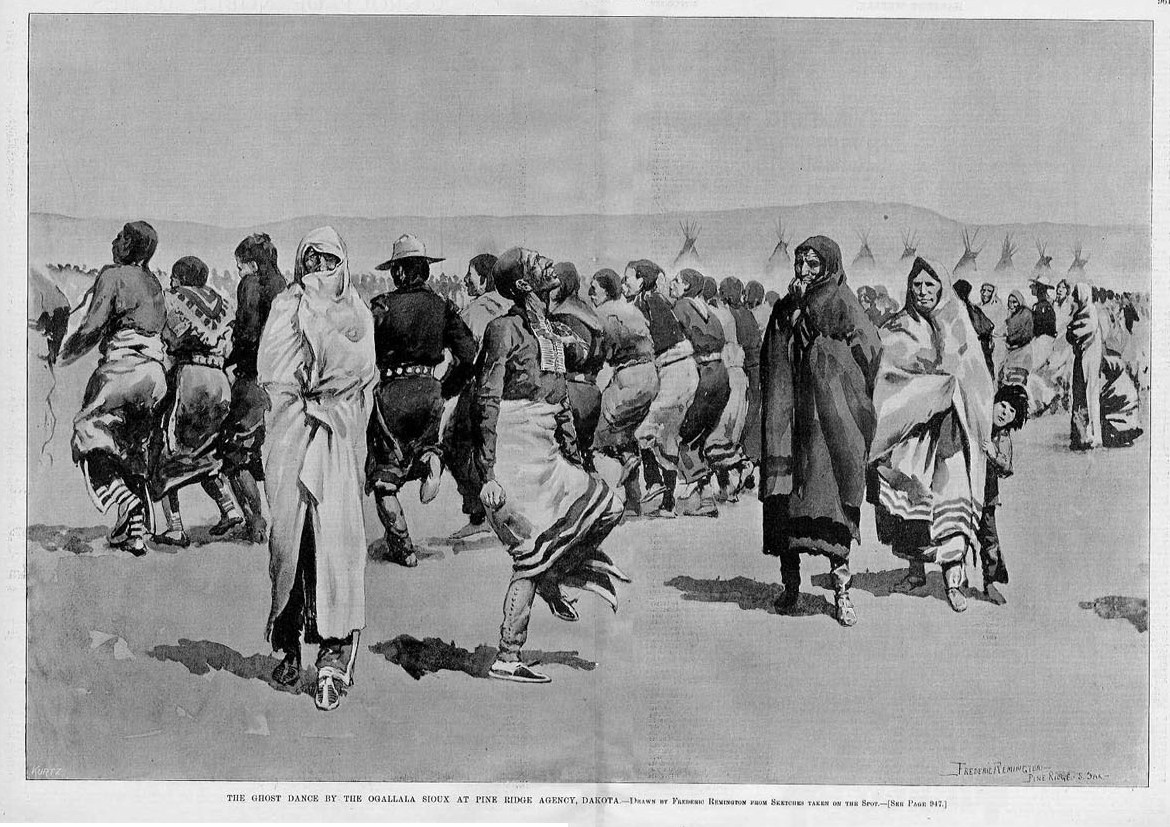 ghost dances The ghost dance gradually replaced the sun dance which was being banned by a joint effort of the federal government and missioners, at times both seemed the same, because of the apparent self-torture elements involved this was in the mid-1870s this forced tribes to perform sun dances in secrecy.